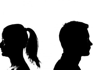 Problemas en las parejas, imagen de archivo