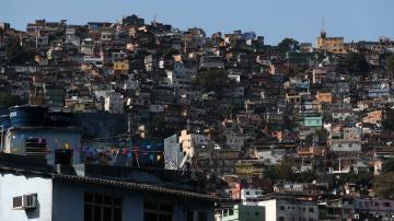 Vista general de la favela Rocinha el pasado 3 de agosto
