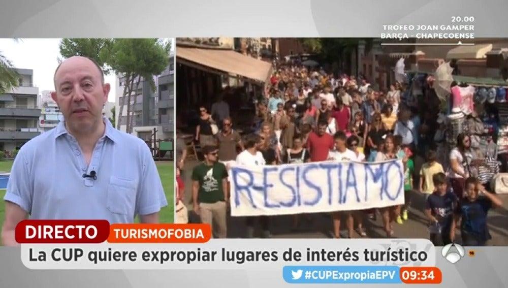 EP turismofobia economía