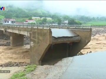 Decenas de muertos en Vietnam y Tailandia como consecuencia de las fuertes lluvias