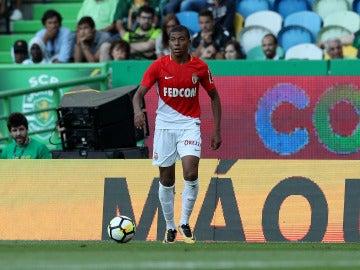 Mbappé durante un partido con el Mónaco