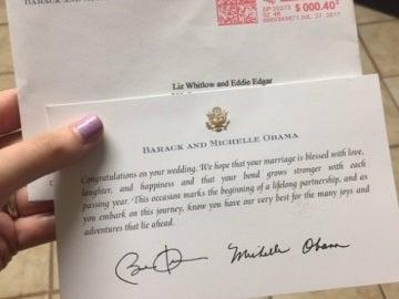 Respuesta de los Obama