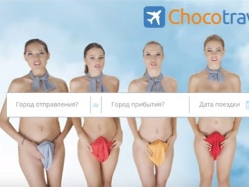 Chocotravel y su polémico anuncio