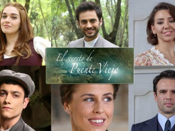 Los actores de 'El secreto de Puente Viejo' vuelven al trabajo radiantes
