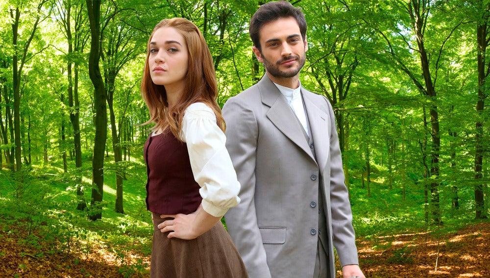 La divertida escapada de Claudia Galán y Rubén Bernal
