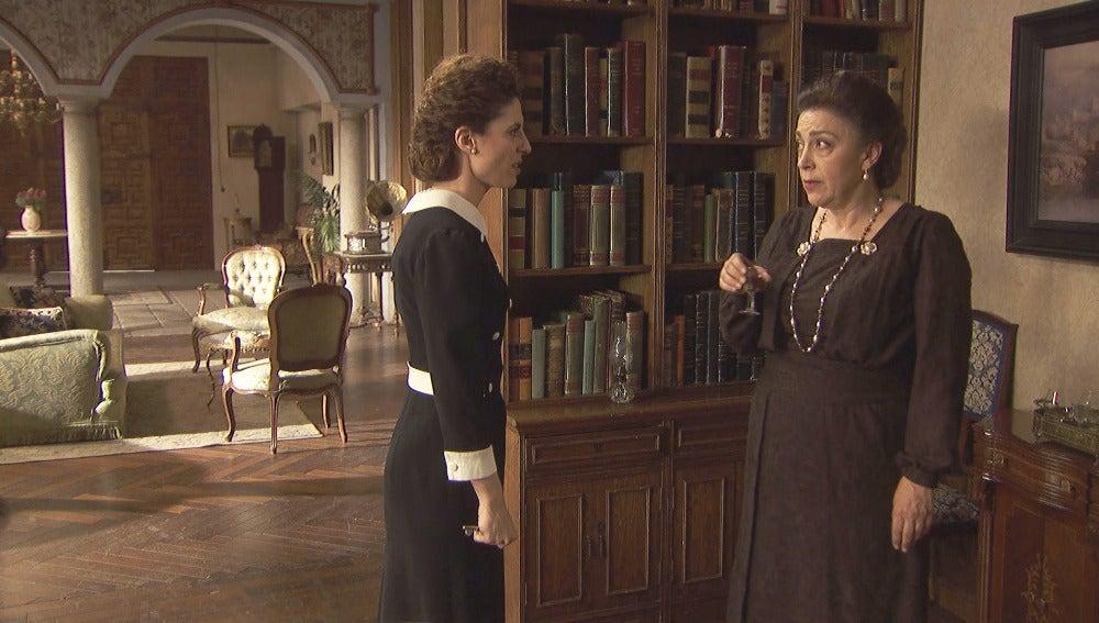 """Nazaria a Francisca: """"Mauricio ya no sucumbe a los placeres carnales"""""""