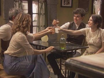 La felicidad inunda a la familia de Los Castañeda