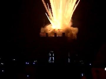 La 'Nit de L'alba' de Elche, un espectáculo de 3.000 kilos de pólvora
