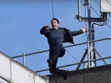 Momento del salto de Tom Cruise