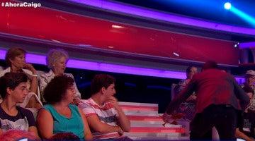 Arturo Valls protagoniza el tropezón más gracioso