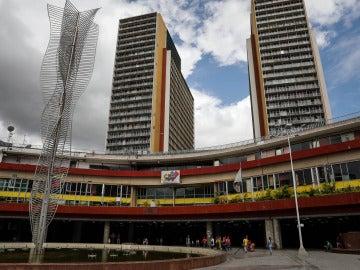 Sede del Consejo Nacional Electoral (CNE) de Caracas