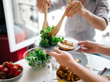 La comida sana es un pilar de la dieta