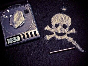 La droga mata, imagen de archivo