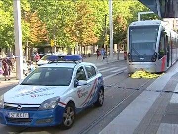 Fallece un hombre de avanzada edad atropellado por un tranvía en Zaragoza