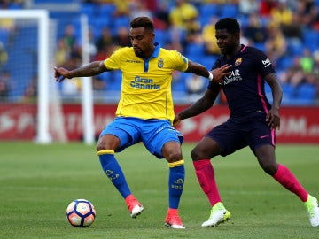 Boateng, durante un partido contra el Barcelona