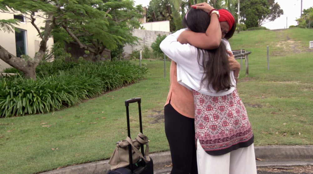 La emotiva despedida de Cynthia y su madre ahonda en el corazón de Iñaki