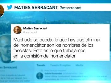 Polémica ante la posible supresión de calles dedicadas a Machado, Quevedo o Lope de Vega