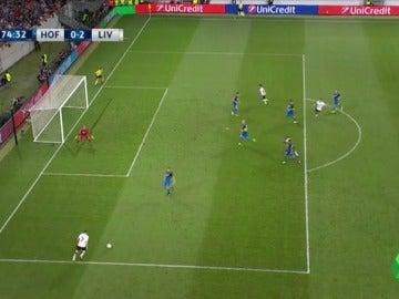 Milner marcó el 0-2 del Liverpool con un centro que desvió Nordtveit