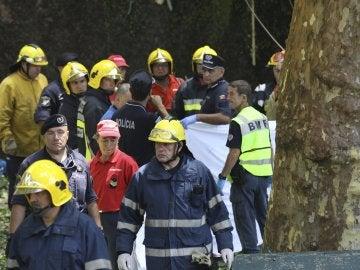 Al menos 11 muertos al caer un árbol sobre la multitud en una fiesta religiosa en Madeira