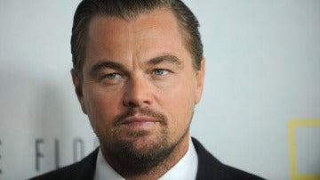 Leonardo DiCaprio en una de sus últimas apariciones públicas