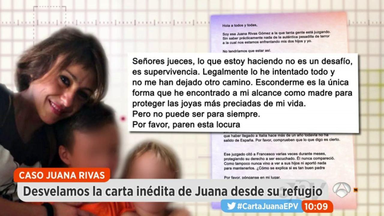 Juana rivas por favor paren esta locura antena 3 tv for Espejo publico hoy completo