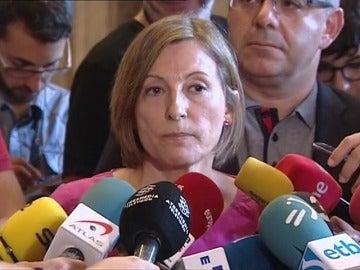 """Forcadell aplaza tramitar la ley del referéndum por su """"complejidad"""" y el contexto judicial"""