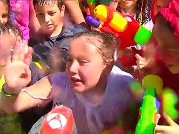 La batalla del agua es hoy el gran reclamo turístico de Vilagarcía de Arousa