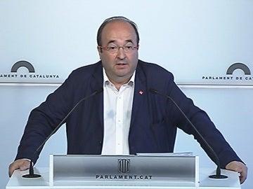 Miquel Iceta se pronuncia sobre la Ley del Referéndum
