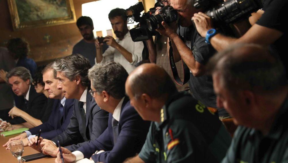 Reunión del Gobierno sobre la situación en El Prat