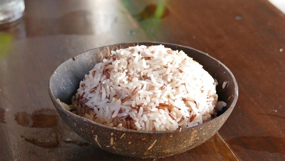 Bol con arroz