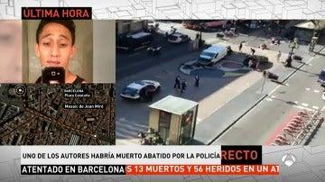 La Policía abate a tiros al huido que se saltó el control de Diagonal