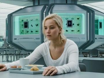 Jennifer Lawrence en 'Passengers'