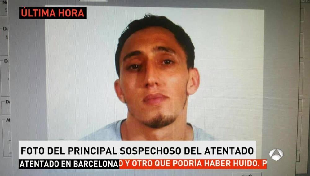 Sospechoso del atentado de Barcelona