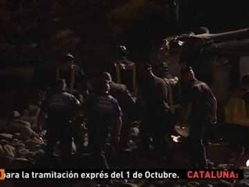 Muere una mujer de 50 en Tenerife tras precipitarse con su coche por un acantilado