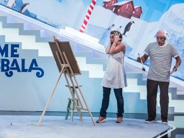 Raúl Cano y Mar Abascal estrenan prueba en 'Me Resbala'