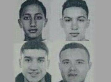 La policía difunde los nombres de cuatro personas que buscan por los atentados de Cataluña