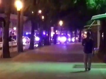 Los Mossos abaten a cuatro presuntos terroristas en un tiroteo Cambrils, en Tarragona