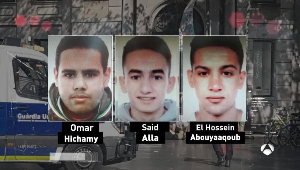 Identifican a tres de los terroristas abatidos en Cambrils