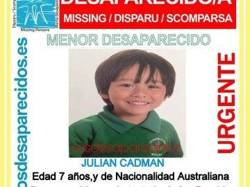 NO USAR Un niño australiano de 7 años, desaparecido tras el atentado de Barcelona