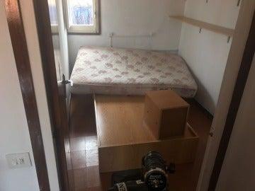 Imagen de la vivienda del imán de Ripoll registrada por los Mossos