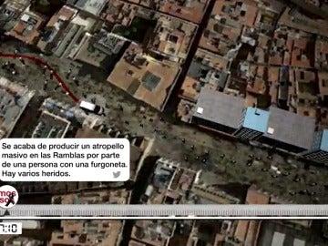 Así informaron los Mossos d'Esquadra de los atentados de Las Ramblas y Cambrils a través de las redes sociales