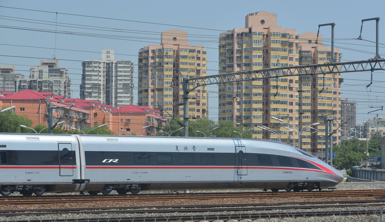 El tren Fuxing en China