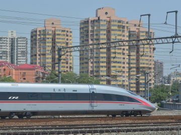 El tren Fuxing en China