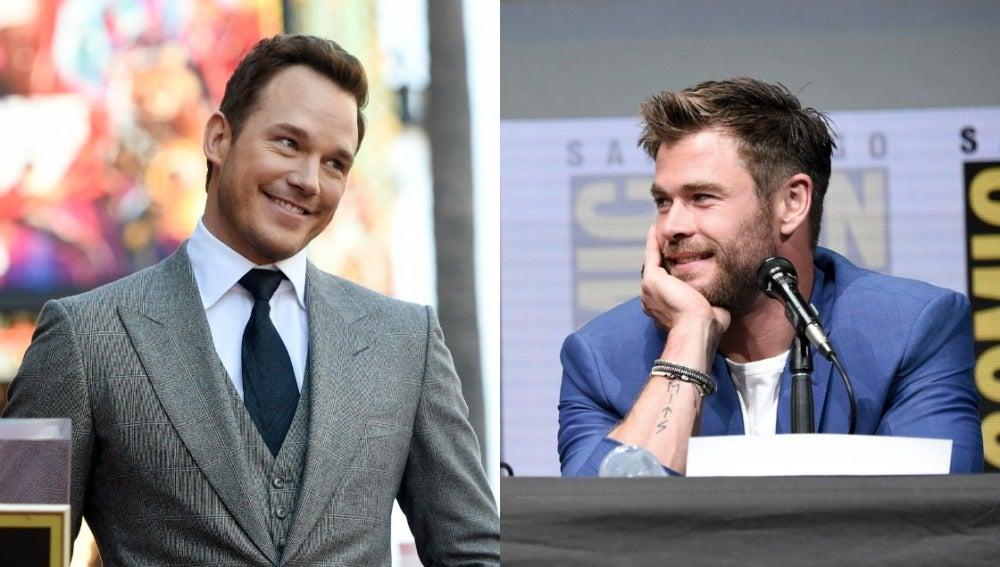 Los Chris de Marvel