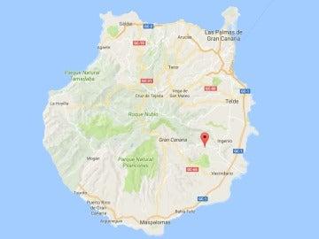 Investigan el hallazgo de restos óseos humanos en un barranco de Gran Canaria