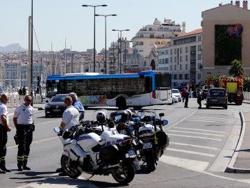 Atropello en Marsella