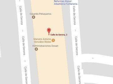 Situación de la discoteca Good Night de Fuenlabrada en un mapa