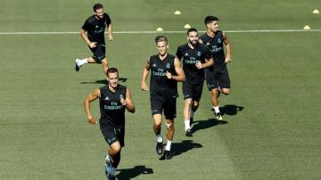 El centrocampista del Real Madrid, Marcos Llorente.