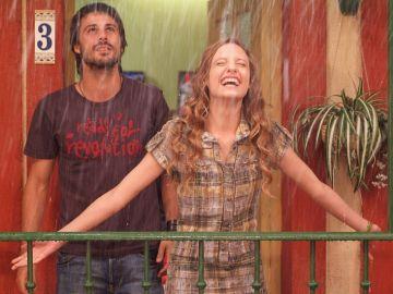 Sara y Lucas en 'Los hombres de Paco'
