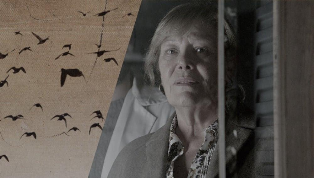 María Garralón es Esther, la madre de la joven periodista